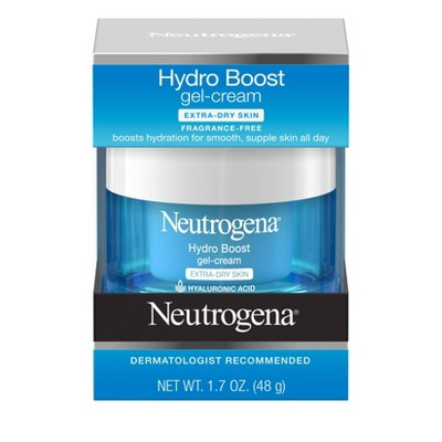 Facial Moisturizer: Neutrogena Hydro Boost Gel-Cream