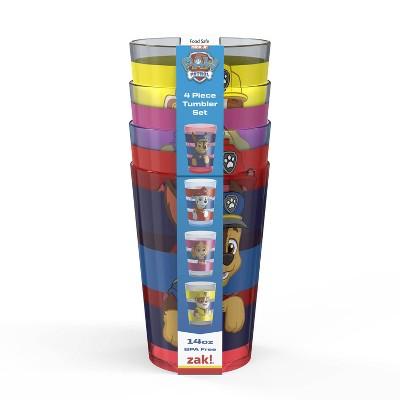 PAW Patrol 14.5oz 4pk Plastic Tumbler Set - Zak Designs