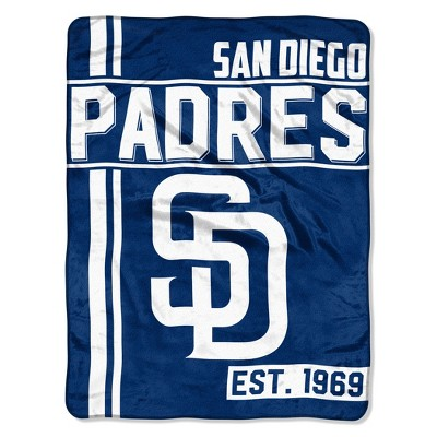MLB San Diego Padres Micro Fleece Throw Blanket