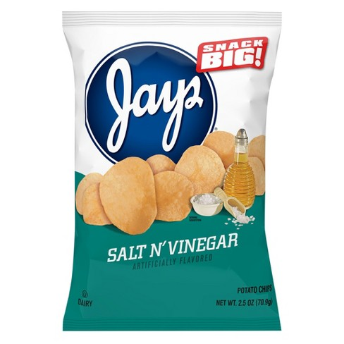 Jays® Salt N'Vinegar Potato Chips - 2.5oz - image 1 of 1