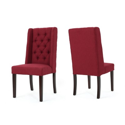 Set of 2 Blythe Tufted Dining Chairs - Christopher Knight Home