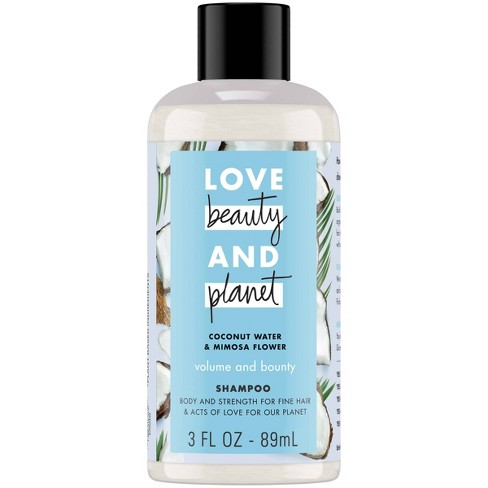 Love Beauty & Planet Coconut Water & Mimosa Flower Volume And Bounty Shampoo - 3 fl oz - image 1 of 6