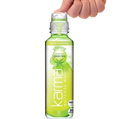 Karma Passionfruit Green Tea Wellness Water - 18 fl oz