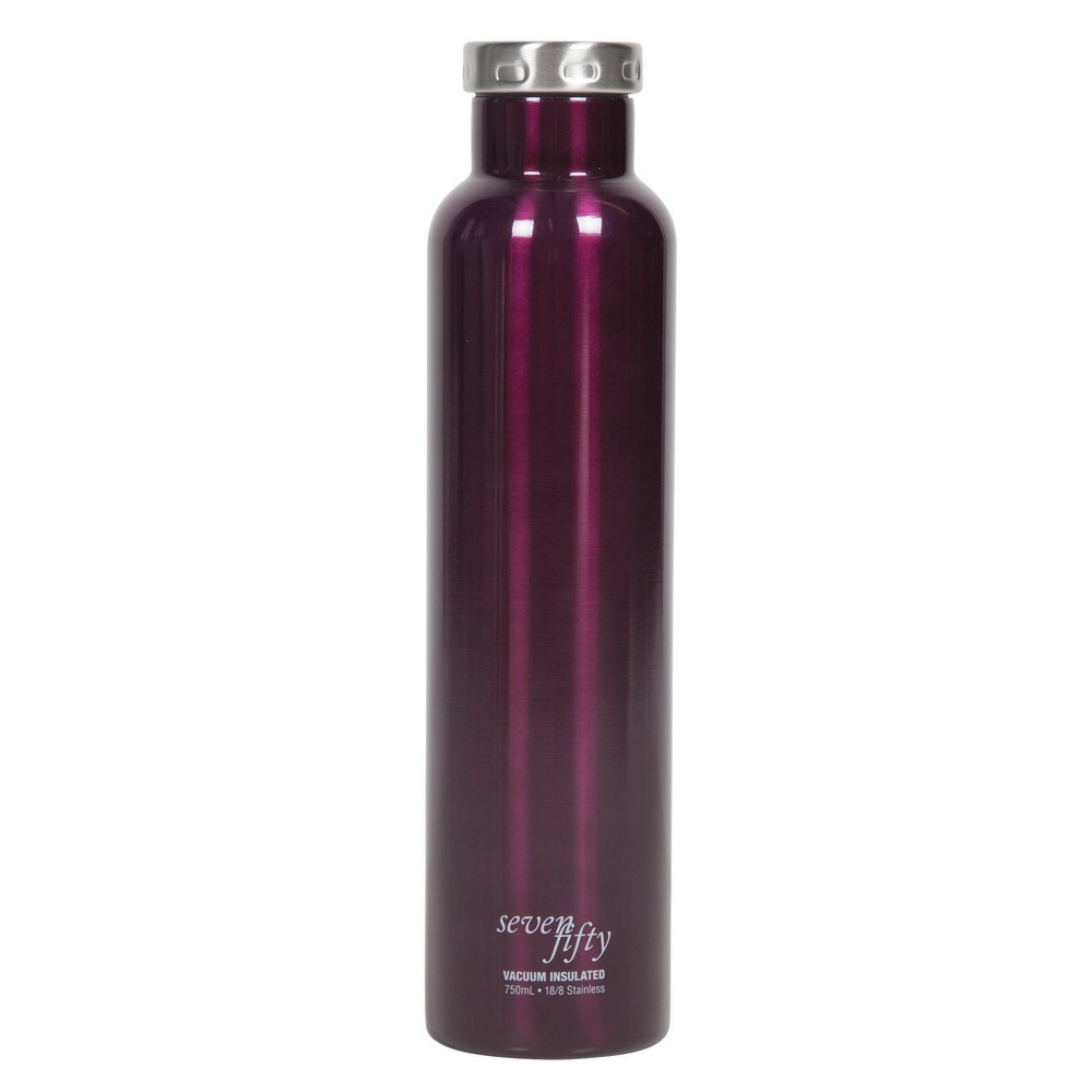 Image of Seven/Fifty 750ml Wine Growler Burgundy
