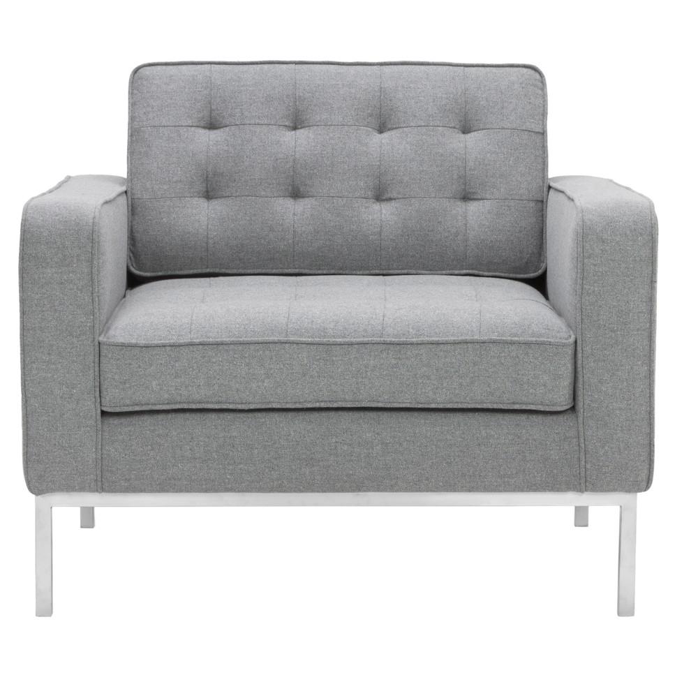 Accent Chairs Light Grey - Safavieh, Light Gray