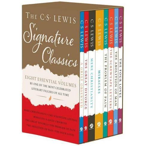 The C. S. Lewis Signature Classics (8-Volume Box Set) - by  C S Lewis (Paperback) - image 1 of 1