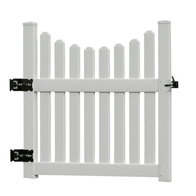 3.6' Cottage Picket Gate - Vita
