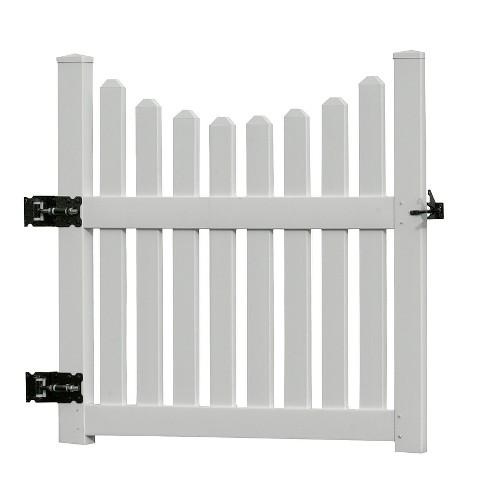 3.6' Cottage Picket Gate - Vita - image 1 of 4
