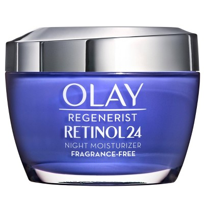 Facial Moisturizer: Olay Regenerist Retinol24 Night Moisturizer