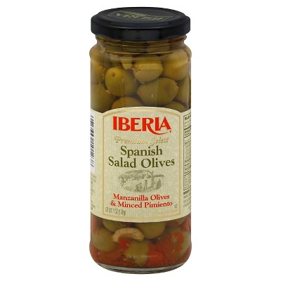 Iberia Premium Select Spanish Salad Olives 7oz