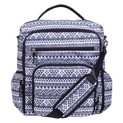 Trend Lab Convertible Backpack Diaper Bag - Aztec