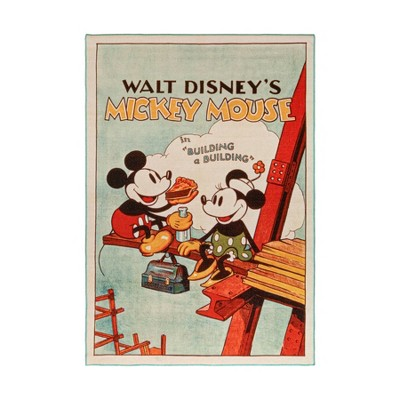 "54""x78"" Mickey Mouse Classic Movie Area Rug"