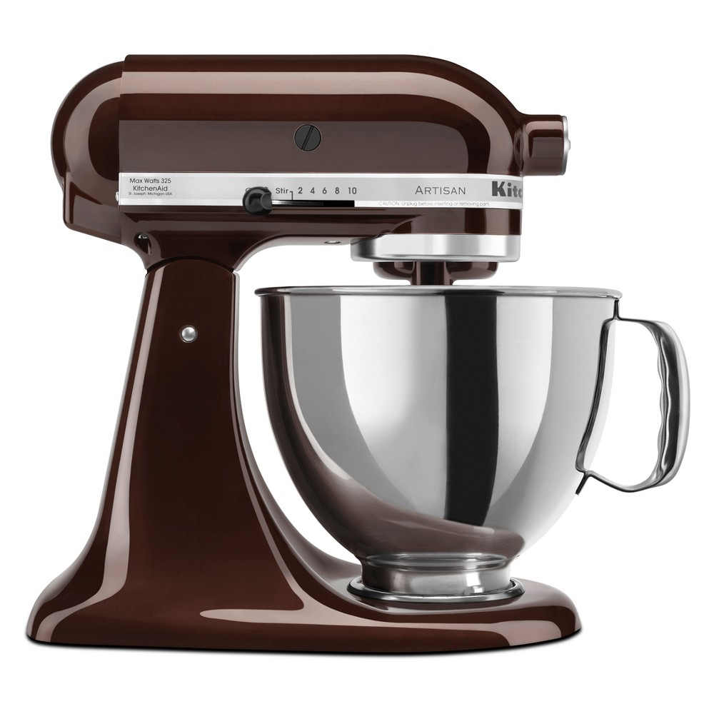 KitchenAid Refurbished 5qt Artisan Stand Mixer Espresso (Brown) – RRK150ES 53960930