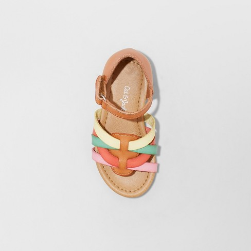 c9253cd1ae66d Toddler Girls' Leonore Huarache Sandals - Cat & Jack™ Tan. Shop all Cat &  Jack