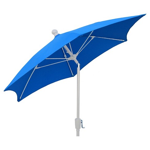 FiberBuilt 7.5' Patio Umbrella Pacific Blue - image 1 of 1