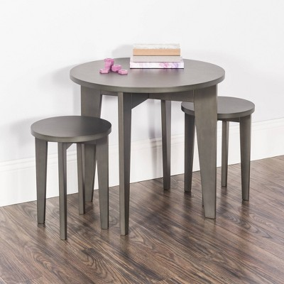 Child Craft Geo Table and Stools - Gray