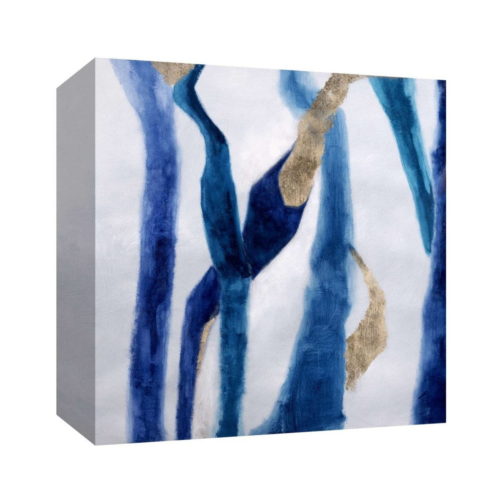 Sea Leaves Decorative Wall Art 16x16 - Ptm Images, Multi-Colored