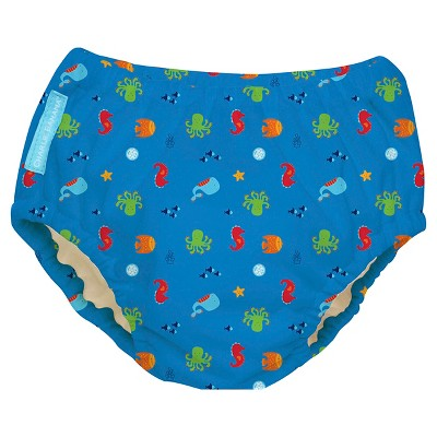 Charlie Banana Reusable Swim Diaper, Under the Sea, M