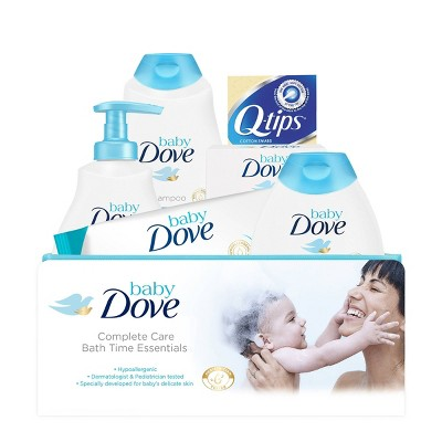 Baby Dove Rich Moisture Complete Bath Time Essentials Gift Set