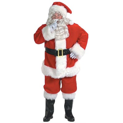 Adult Santa Halloween Costume XXL