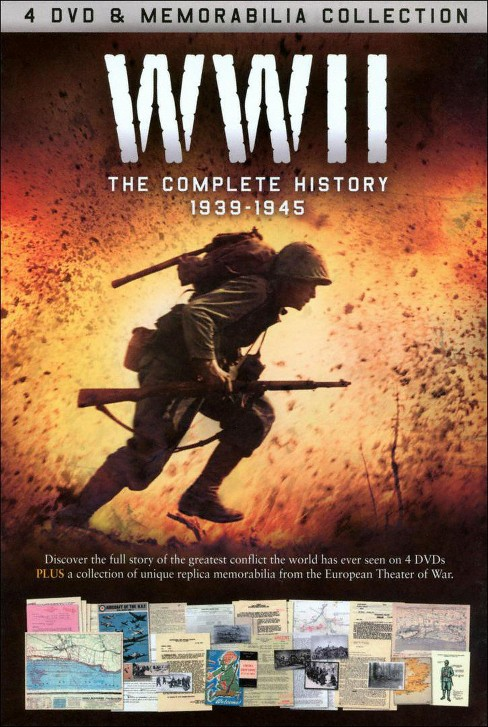 WWII: The Definitive Story (4 Discs) (dvd_video) - image 1 of 1