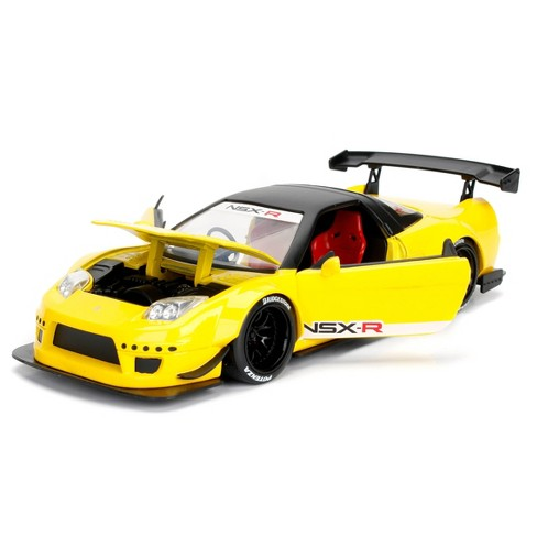 Jada Toys JDM Tuners 2002 Honda NSX Widebody Die-Cast Vehicle 1:24 Scale Metallic Yellow - image 1 of 4
