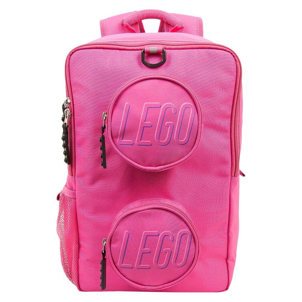 """Image of """"LEGO Brick 16"""""""" Kids' Backpack - Pink"""""""