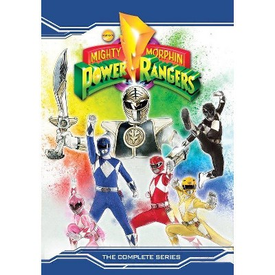Mighty Morphin Power Rangers: The Complete Series (DVD)(2021)