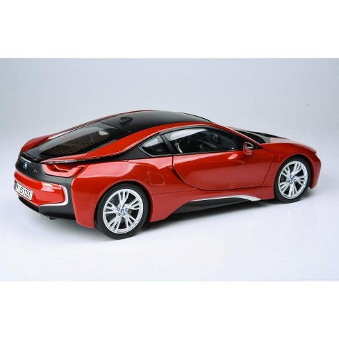 Bmw I8 Protonic Red With Black Top 1 18 Diecast Target