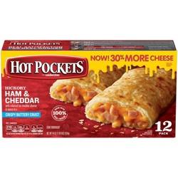 Hot Pockets Frozen Ham & Cheese - 12ct/54oz