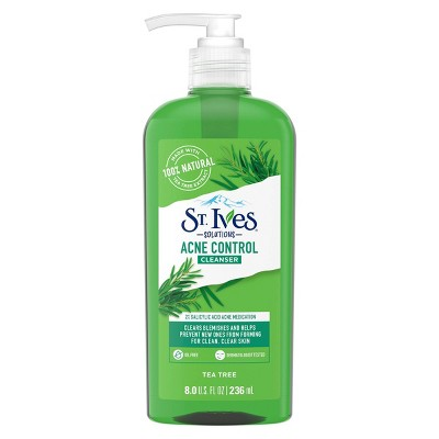 St. Ives Tea Tree Acne Control Daily Cleanser - 8 fl oz