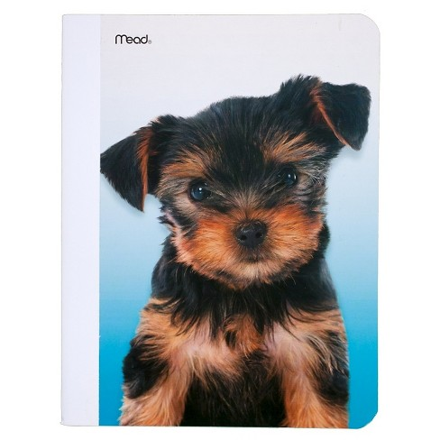 "Composition Notebook Wide Ruled 9.75""x 7.5"" Puppies & Kittens- Mead - image 1 of 1"