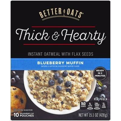 Better Oats Blueberry Muffin - 15.1oz