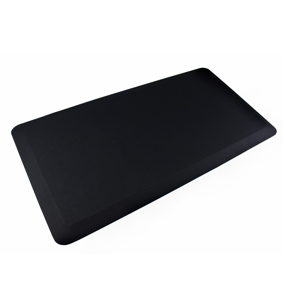 "Image of ""System 3000 Anti-Fatigue Mat Perfect to Use With Standing Desk 20""""x39"""" Black - Ecotex, Clear"""