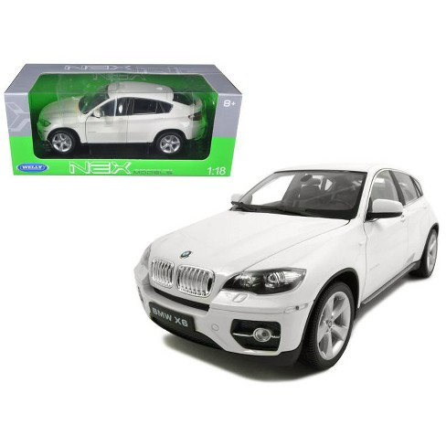 2011 2012 Bmw X6 White 1 18 Diecast Car By Welly Target