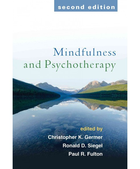 Mindfulness and Psychotherapy (Paperback) - image 1 of 1