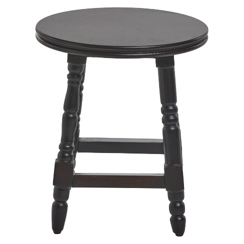Genoa End Table - Wood - Deep Walnut - Christopher Knight Home - image 1 of 4