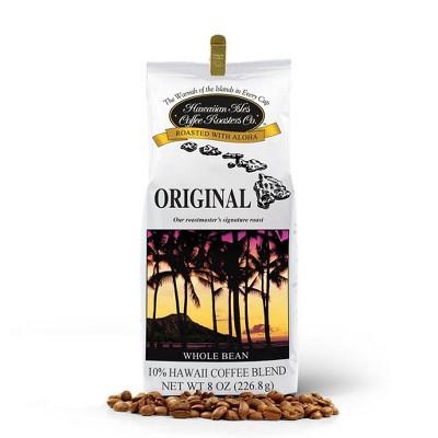 Hawaiian Isles Classic Medium Roast Whole Bean Coffee - 8oz