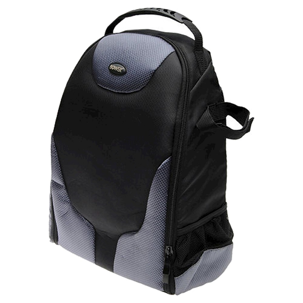 Bower Digital Pro Camera Backpack - Black (SCB1350) Take your camera and accessories every with the Bower Digital Pro Camera Backpack in Black (SCB1350). This camera storage backpack has soft-sided compartments for organization and to keep items from knocking together.