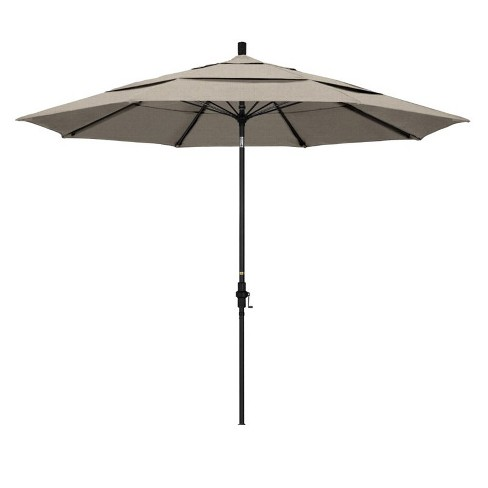 11' Patio Umbrella in Woven Granite - California Umbrella - image 1 of 2