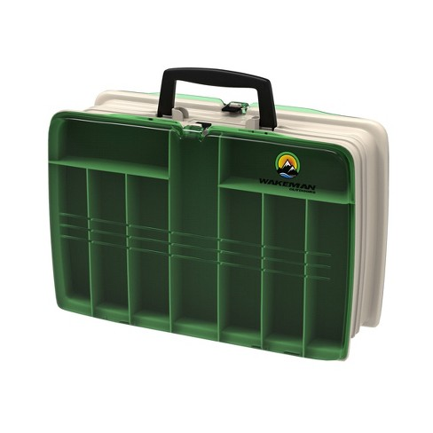 Wakeman Two Sided Fishing Tackle Box - image 1 of 3