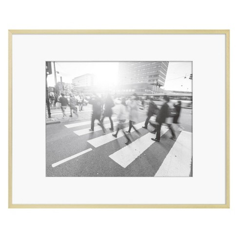 Thin Metal Matted Gallery Frame Gold - Project 62™ - image 1 of 2