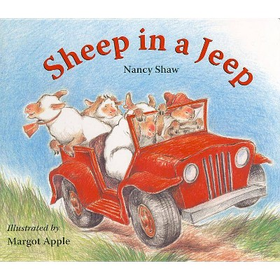 Sheep in a Jeep by Nancy Shaw (Board Book)