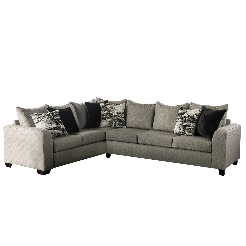 Gorst L - Shaped Sectional Gray - Homes: Inside + Out