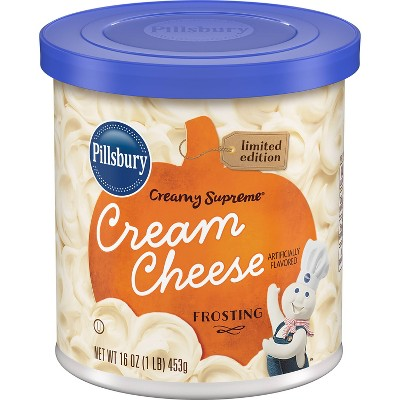Pillsbury Creamy Supreme Seasonal Cream Cheese Frosting - 16oz