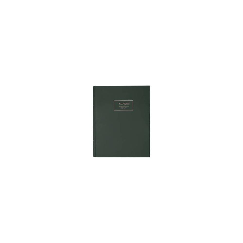 Solid Lined Journal Dark Green - Cambridge
