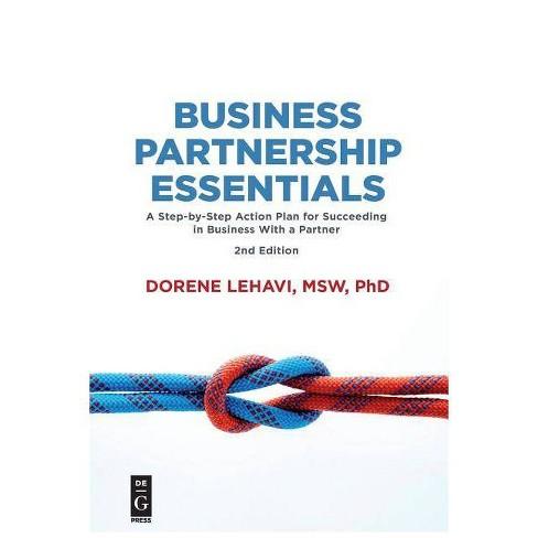 Business Partnership Essentials - by Dorene Lehavi (Paperback)
