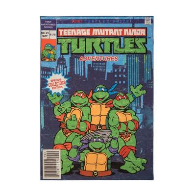 Teenage Mutant Ninja Turtles 5'x7' Comic Book Rug
