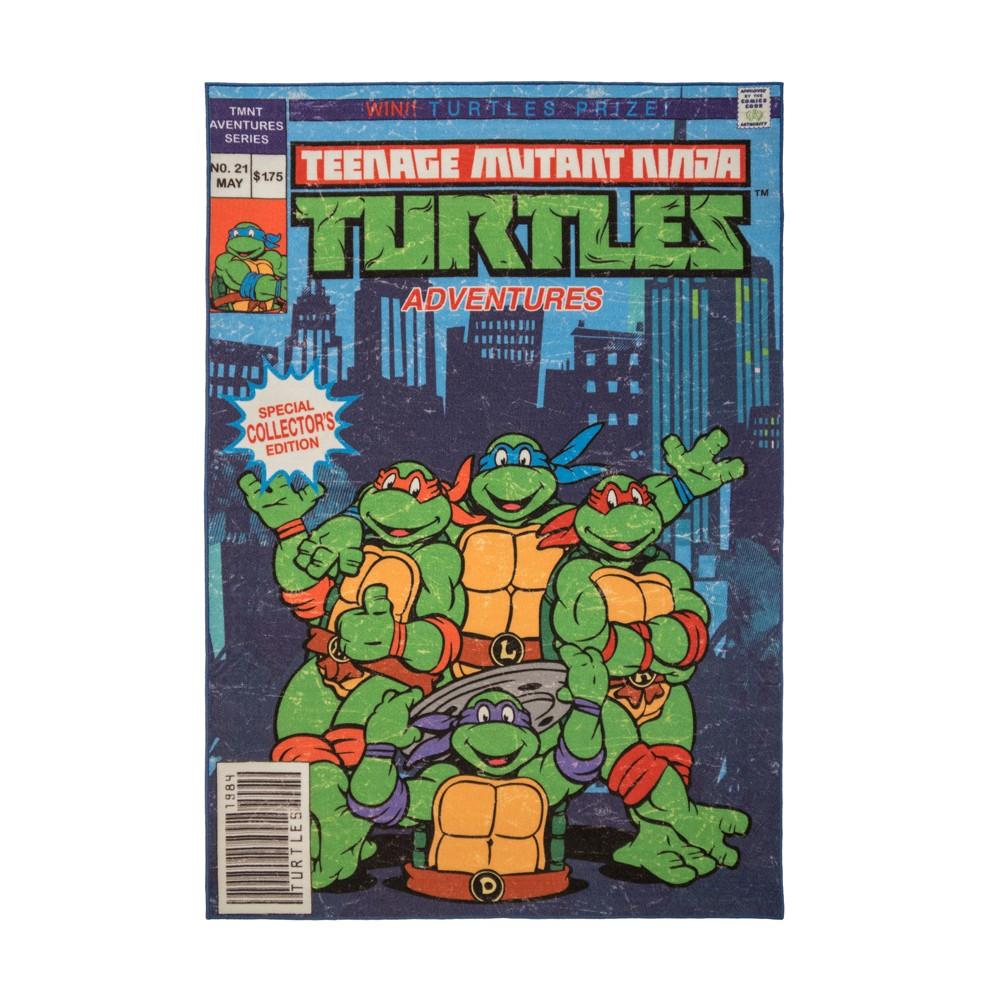 Image of Teenage Mutant Ninja Turtles 5'x7' Comic Book Rug
