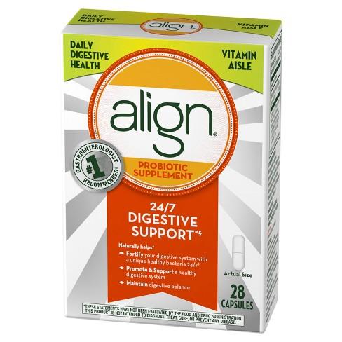 Align Probiotic Supplement Capsules - 28ct - image 1 of 4